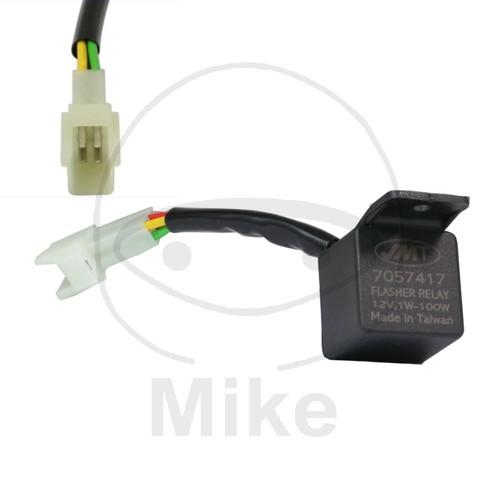 Irányjelző relé LED 12V 4 pólusú univerzális részére HONDA CBR 600 RR  (2003-2010) 50cefa413a