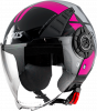 JET helmet AXXIS METRO ABS cool b8 gloss pink M